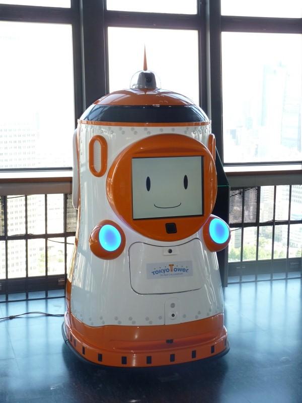 東京タワーのガイドロボット「TAWABO」