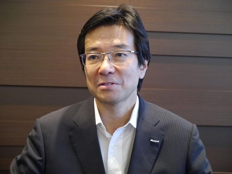日本マイクロソフト 樋口泰行社長