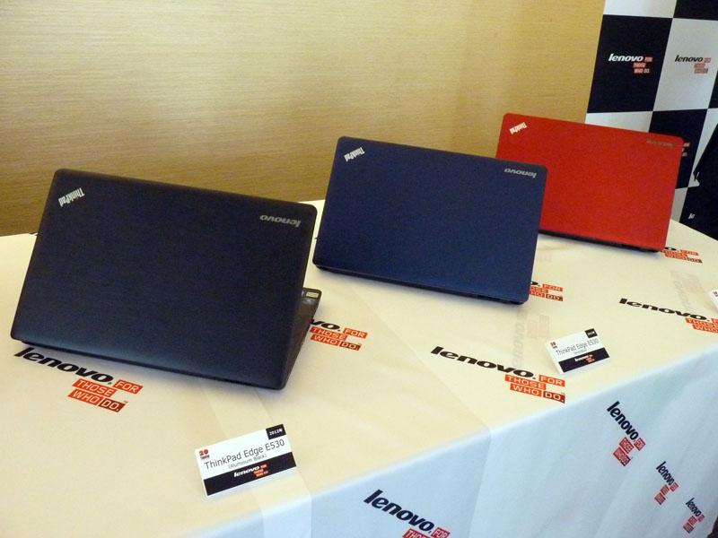2012年発売、ThinkPad Edge E530シリーズ3色