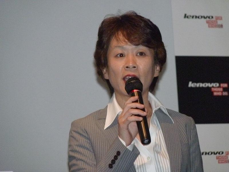 レノボ・ジャパン株式会社 代表取締役社長 渡辺 朱美氏