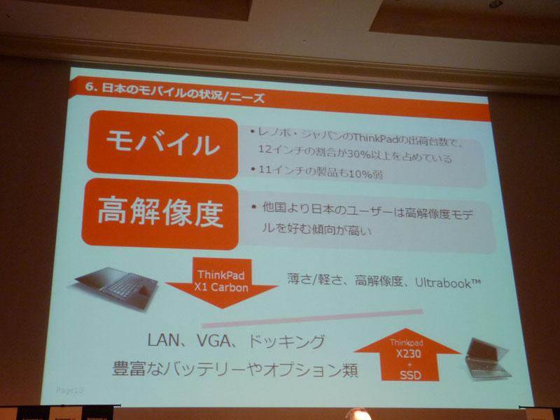 日本のモバイルユーザーのニーズ
