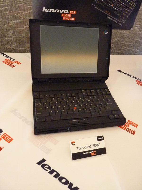1992年発売、ThinkPad 700C