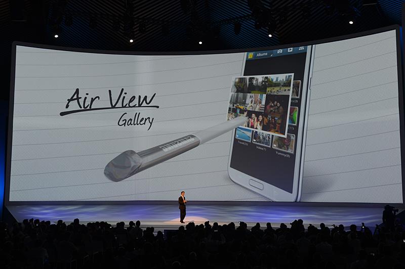 新たに加わるペン操作のユーザーインターフェイス、Air View