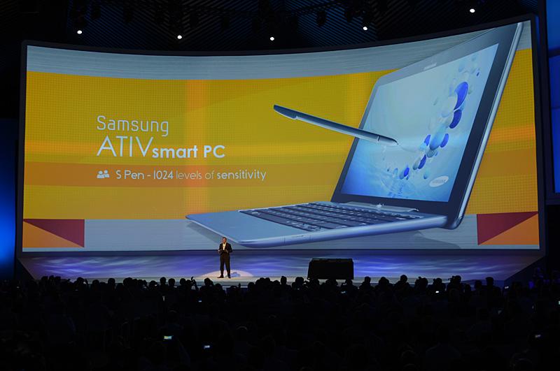 1,024段階の感圧式スタイラスに対応。S Penの特徴はPC/タブレットにも生かしていく