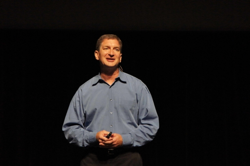 AMDのMark Papermaster氏(Senior Vice President and Chief Technology Officer)