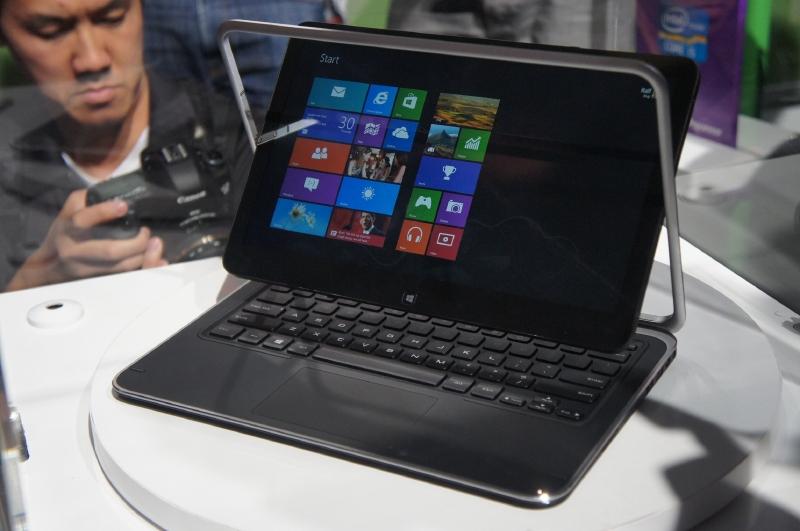 XPS Duo 12は、Core i7/i5を搭載したコンバーチブルノートPC