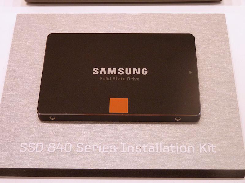 メインストリーム向けの「SSD 840」