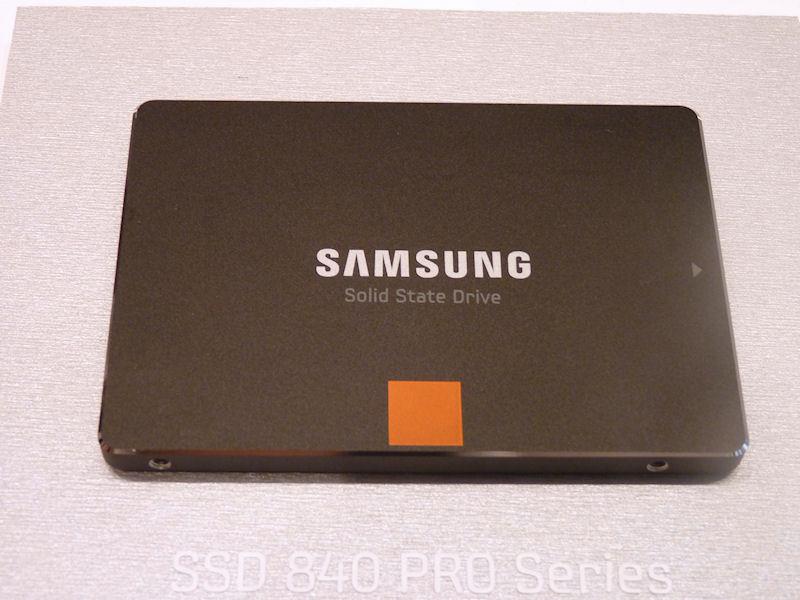 性能にこだわる人向けの上位モデル「SSD 840 PRO」