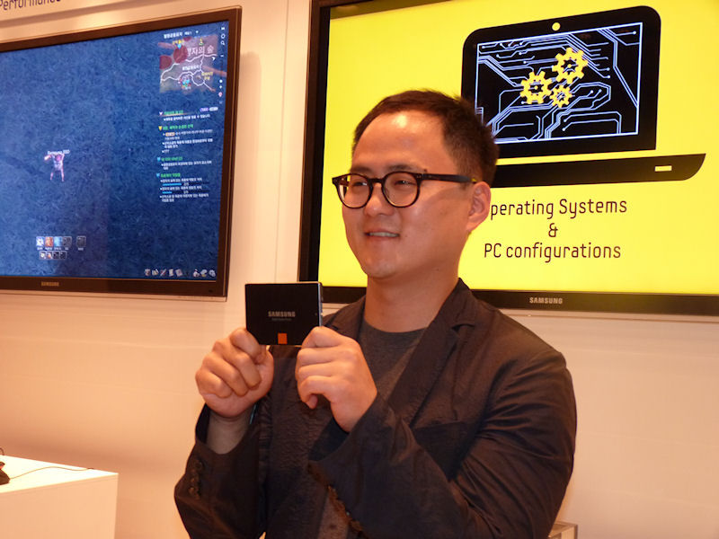 SSD 840/840 PROの筐体デザインを担当したシム・ヒョンソプ氏