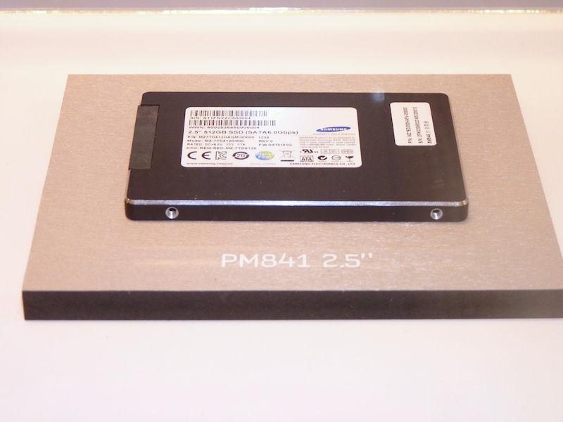 SSD 840シリーズの姉妹製品である「SSD PM841」