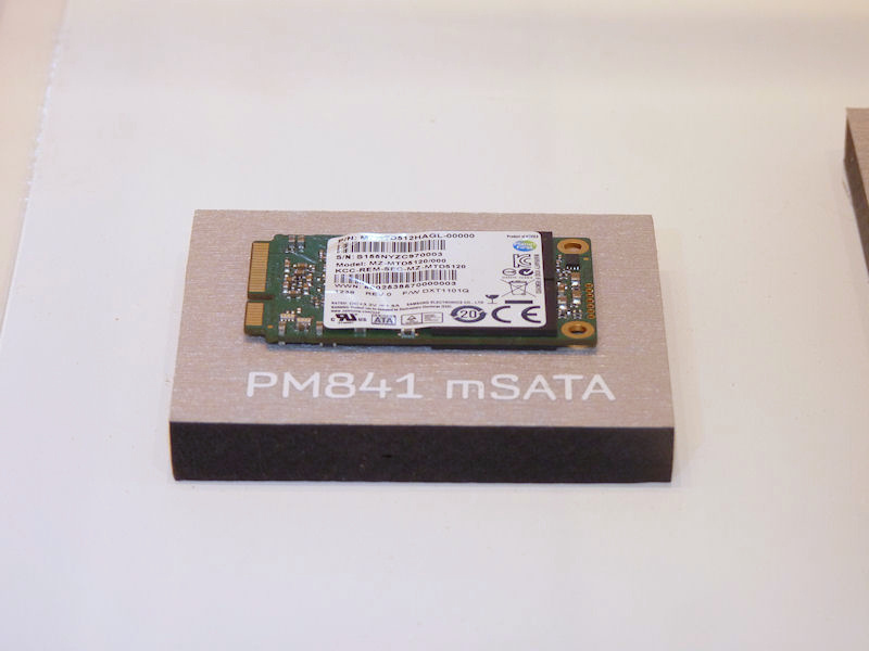 SSD PM841のmSATA対応版である「SSD PM841 mSATA」