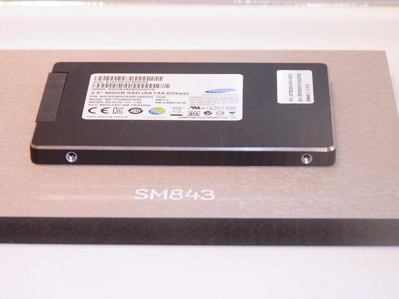 データセンター向けの姉妹製品「SM843」