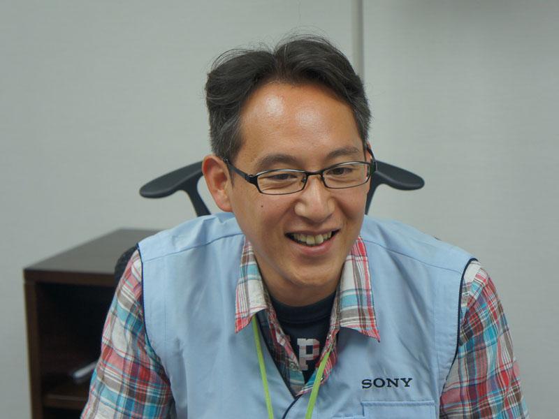 ソニー株式会社 VAIO事業本部 第1事業部 設計1部1課 ソフトウェアプロジェクトリーダー 藤井康隆氏