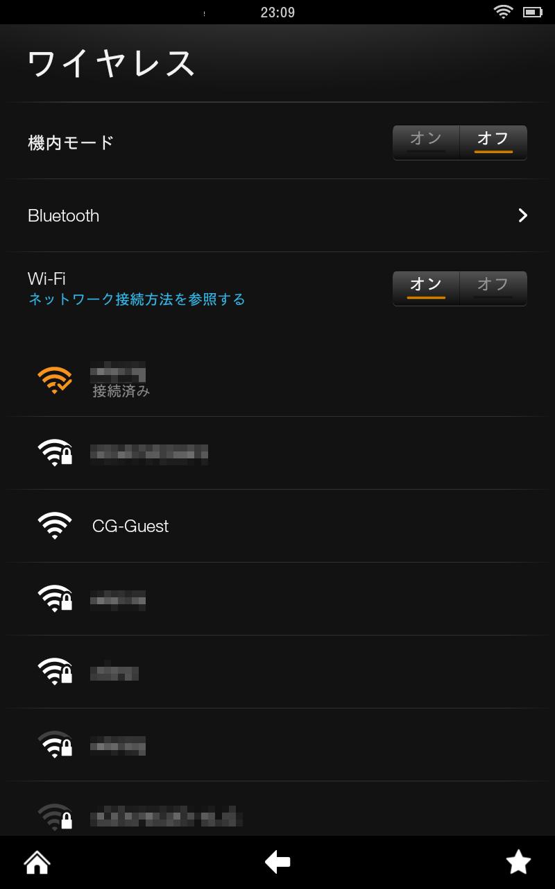Kindle Fire HDはBluetoothにも対応している