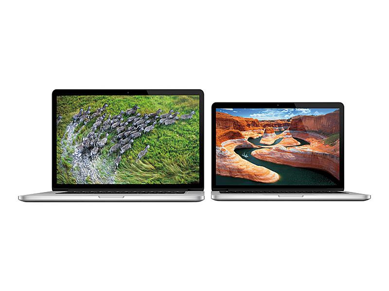 MacBook ProにもRatinaディスプレイ版が登場