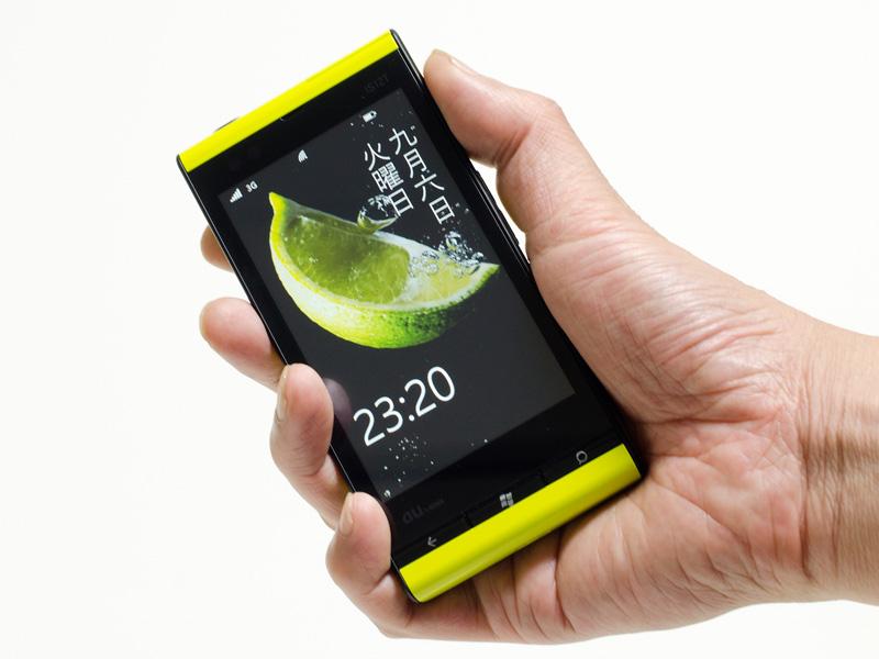 現在、唯一国内で発売されたWindows Phone 7.5搭載機、au「IS12T」