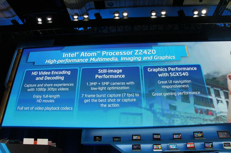 GPUはPowerVR SGX 540を搭載
