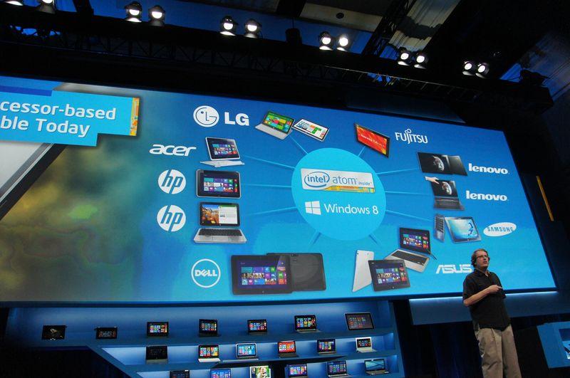 Clover Trail搭載Windows 8タブレットのメーカーリスト