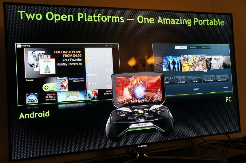SHIELDの特徴は2つのオープンプラットフォーム(Android、PC)のゲームを1つのプラットフォームで楽しむことができること