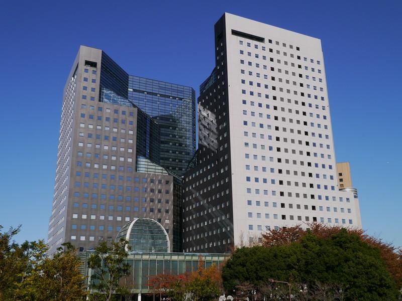 デル日本法人本社が入る川崎市のソリッドスクエア
