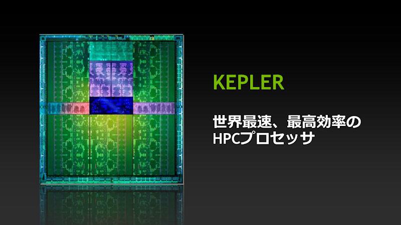 開発コードネームKeplerは、世界最速、最速効率のHPCプロセッサである