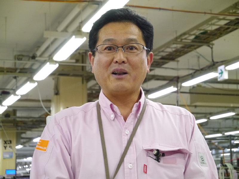 NECパーソナルコンピュータ 東日本テクニカルセンターの星野敬正センター長