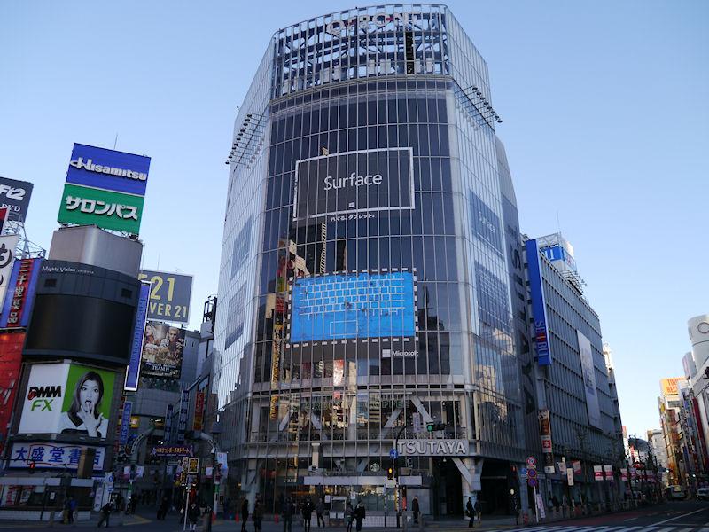 渋谷のQFRONTにも掲示された