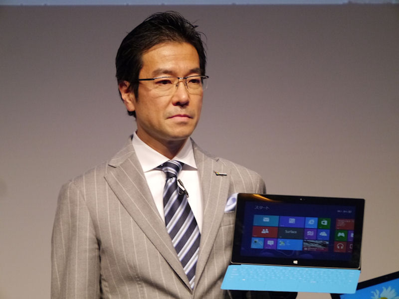 日本マイクロソフトの樋口泰行社長