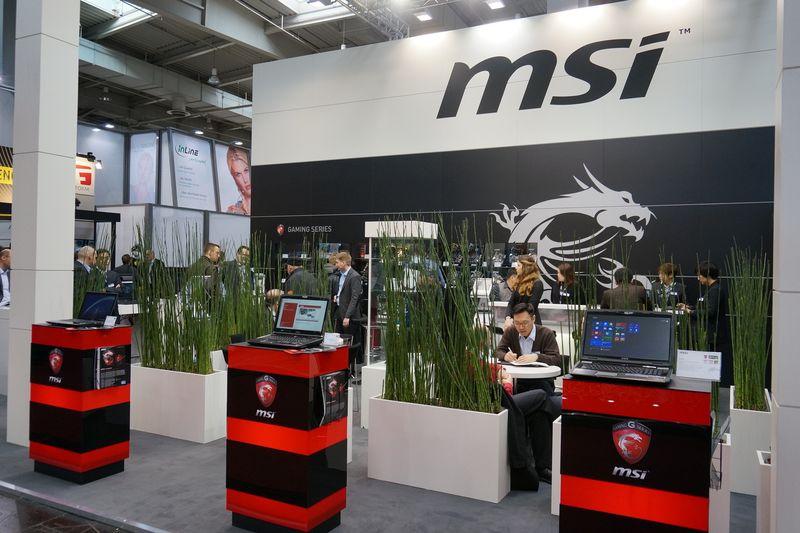 MSIのブースでは、Intel 8シリーズ・チップセットを搭載した製品は展示されていなかったが、秘密保持契約を結んだ顧客などには公開していたようだ
