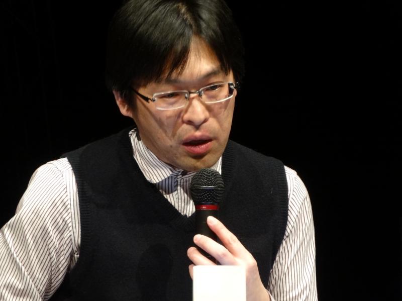 詩人 松井茂氏