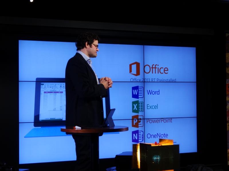 Officeの内包でいつでもビジネス用途に使えることをアピール