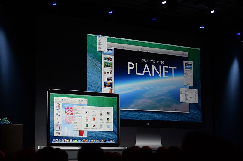 マルチディスプレイ環境での全画面アプリケーションの扱いが大きく変わる。複数のディスプレイに、全画面アプリケーションをそれぞれ表示できるようにもなった