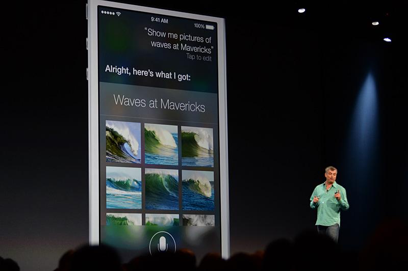 Siriを使った画像検索結果のプレビュー