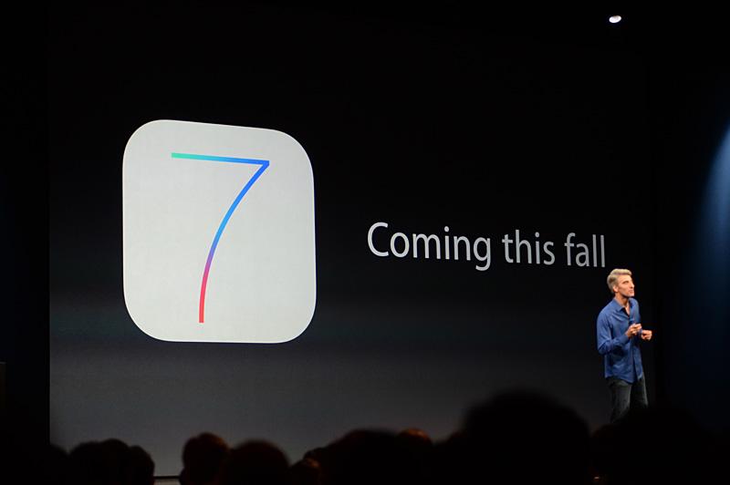iOS 7の正式リリースは今秋。例年どおりであれば、新iPhoneの発表も伴うはずだが?
