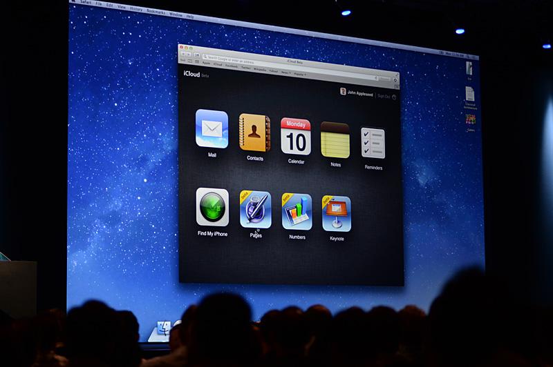 iCloudのサービスに、iWorkのWeb版アプリケーションが加わる