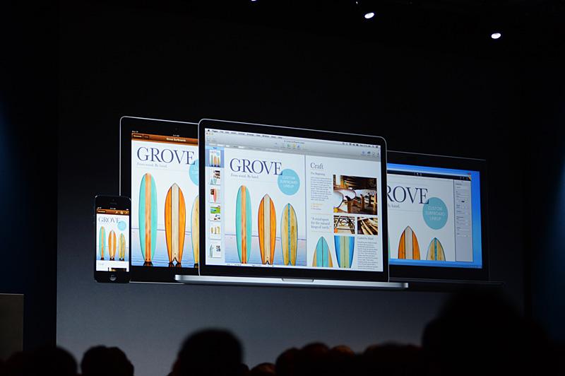 iOS、OS XそしてWindowsで、iWorksのオフィスアプリケーションを利用する