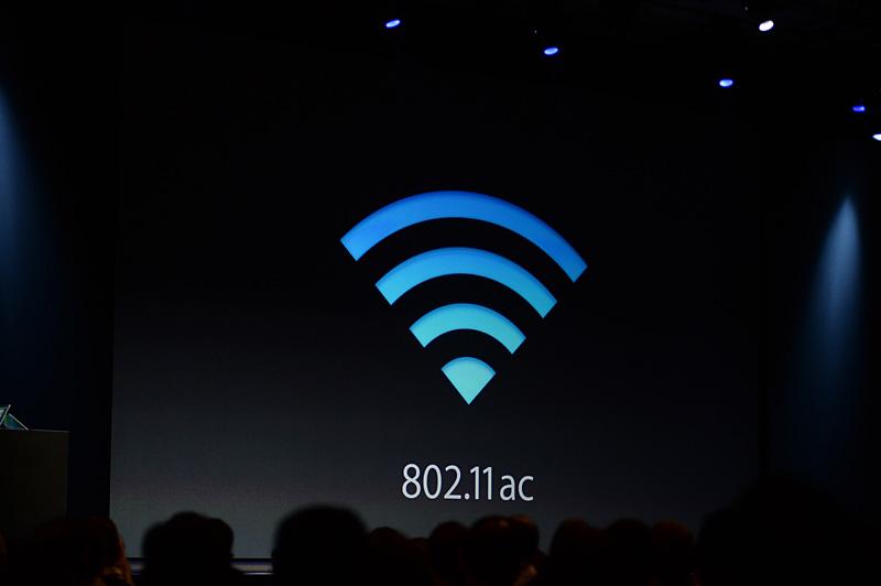 より高速な無線LANのIEEE 802.11acを採用する