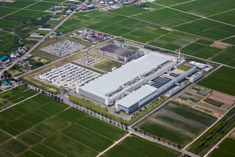 Spansion Japanの会津若松工場
