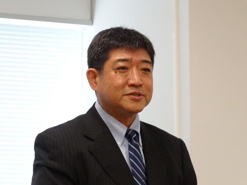 マカフィー コンシューマ事業統括 取締役 常務執行役員 田中辰夫氏