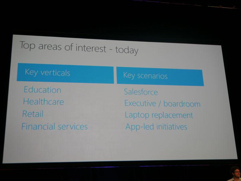 新分野をターゲットにする一方、既存分野へアプリ主導の展開を狙う
