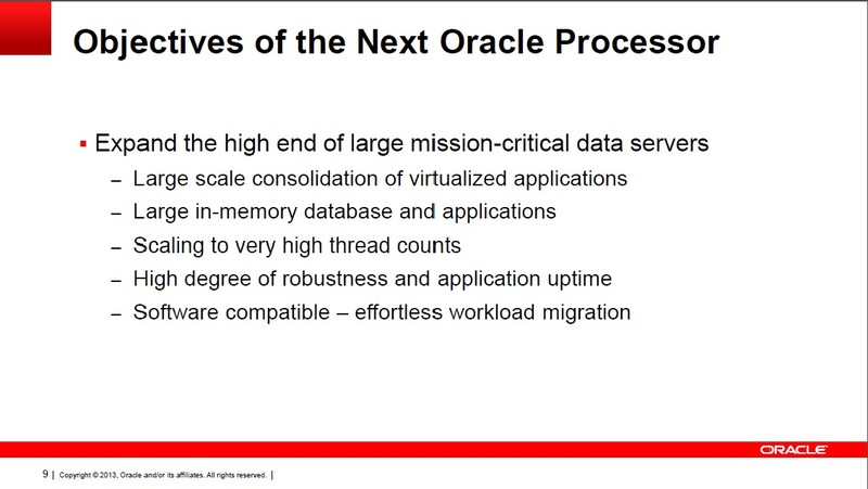 次世代SPARCプロセッサの開発指針