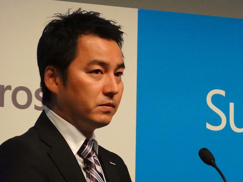 日本マイクロソフト藤本恭史氏