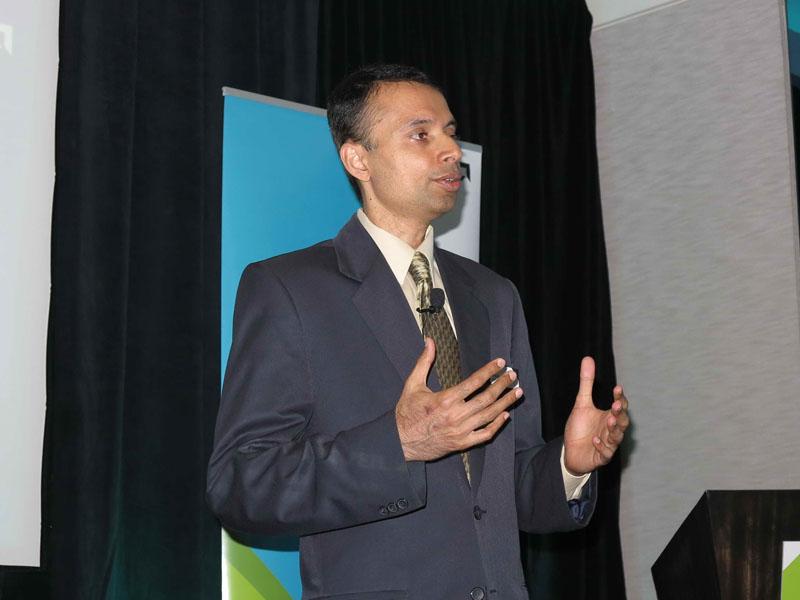 Arun Iyengar氏(Corporate VP & GM, Embedded, AMD)