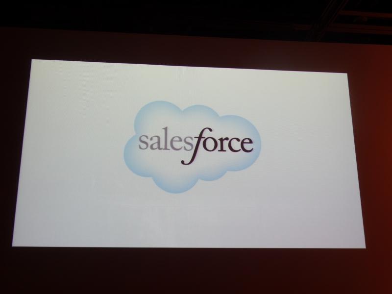 営業支援ツール「Salesforce」に統合された