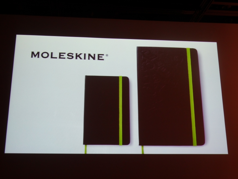 MOLESKINEとコラボレーションしたノート
