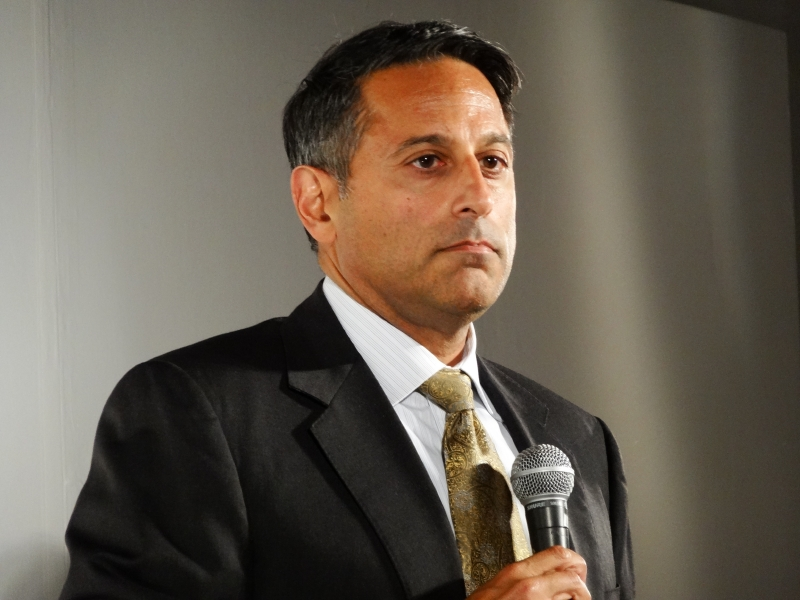 3Mステショナリー&オフィスサプライ事業部担当副社長権事業部長のJesse Singh氏