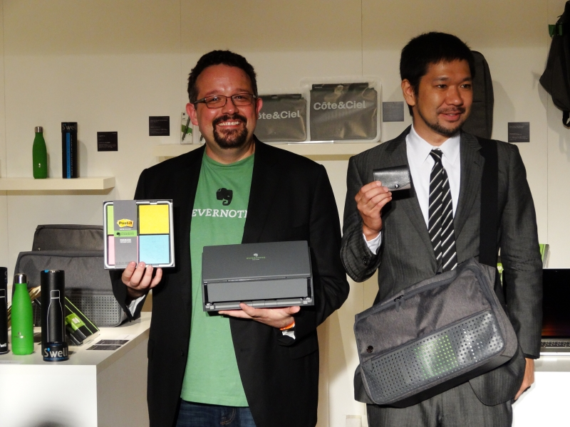 Phil Libin CEOと、abrAsusブランドを手がけるバリューイノベーションの南和繁代表取締役