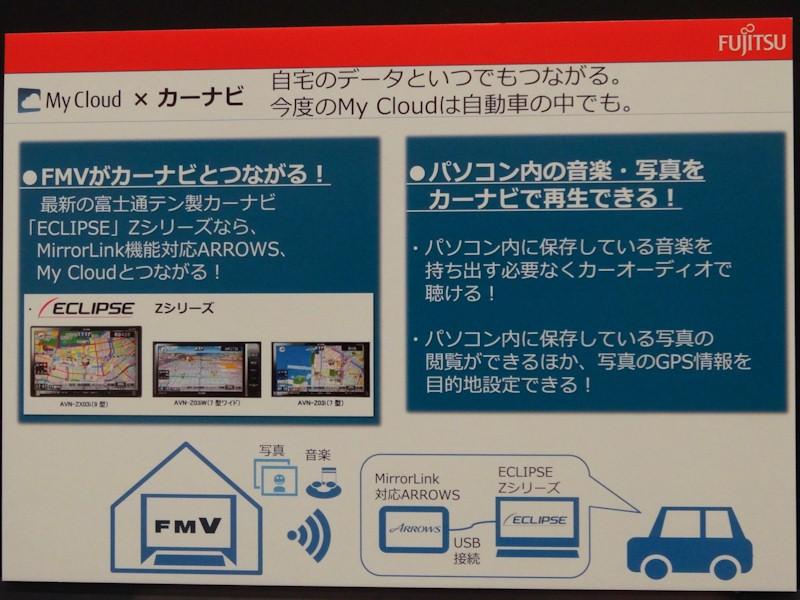 偶然にも同日発表となったECLIPSE Zシリーズと未発表のARROWS、MyCloudの連携をデモ