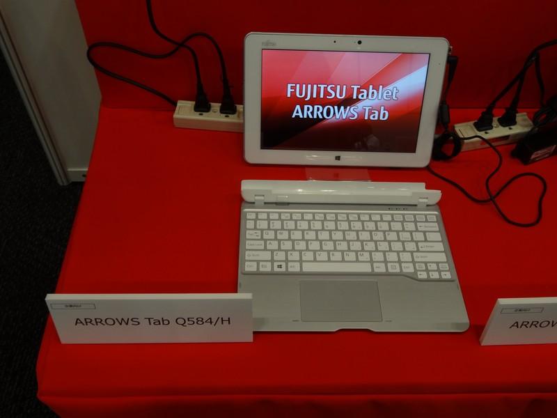 10.1型タブレット「ARROWS Tab Q584/H」