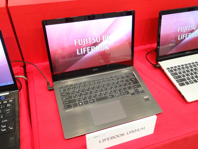 13.3型Ultrabook「LIFEBOOK U904/H」